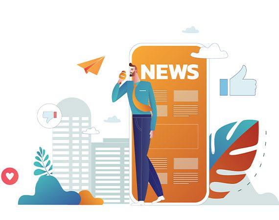 اپلیکیشن خبری (News App)